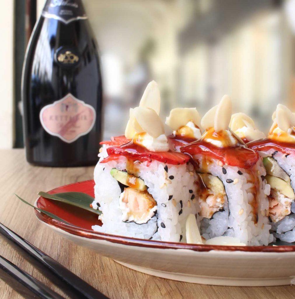 Maki Love - Sushi Torino - Sushi Brasiliano - fragole