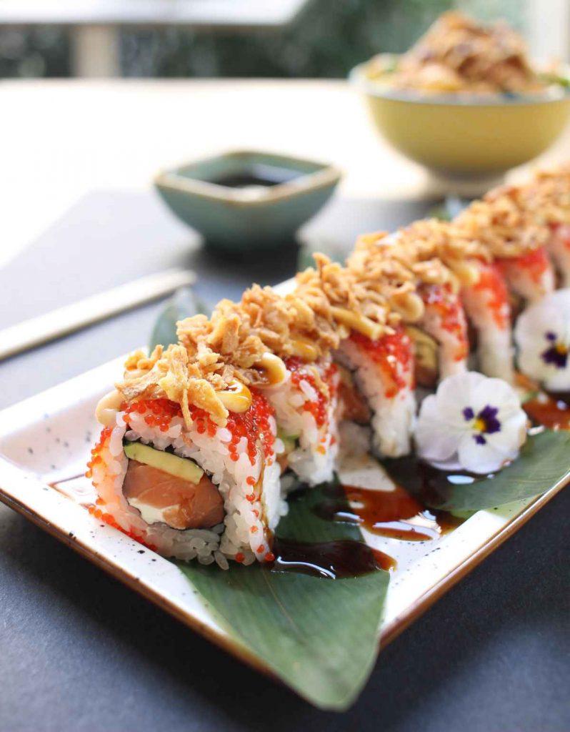 Maki Love - Sushi Torino - Sushi Brasiliano - fragole e salmone