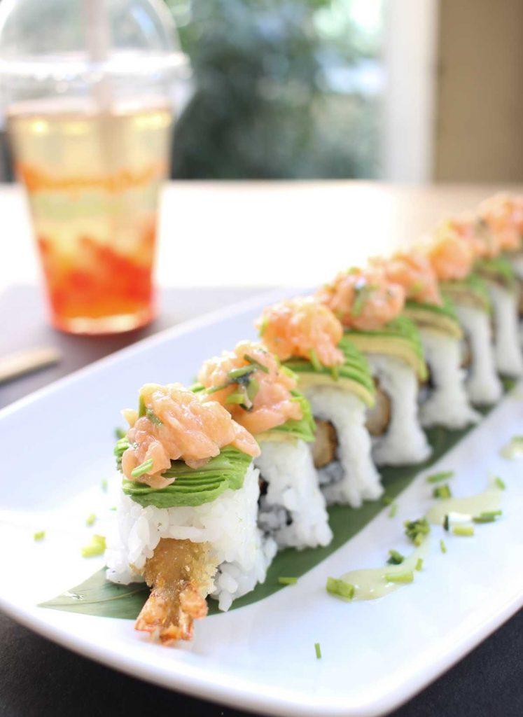 Maki Love - Sushi Torino - Sushi Brasiliano - tempura - salmone